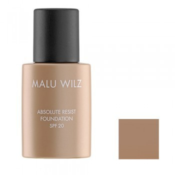 Malu Wilz Absolut Resist Foundation Delicate Caramel Brown Nr.16 30ml