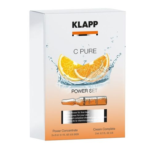 C PURE POWER SET 3 ml, 3 x 2 ml